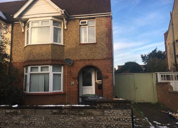 Thumbnail 3 bed semi-detached house to rent in Rosamond Road, Goldington