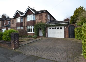 Thumbnail Semi-detached house to rent in Parkgate Road, Stockton Heath, Warrington