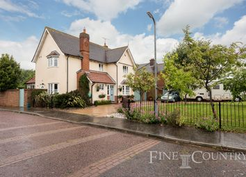 Thumbnail 4 bed detached house for sale in Brook Meadows, Tiptree, Colchester