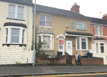 Thumbnail 2 bedroom terraced house for sale in Crombey Street, Swindon