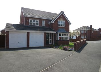 Thumbnail 4 bedroom detached house for sale in Keble Grove, Walsall