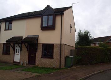 Thumbnail 2 bedroom semi-detached house to rent in Lindley Close, Norwich