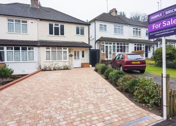 Thumbnail 3 bed semi-detached house for sale in Whyteleafe Hill, Whyteleafe