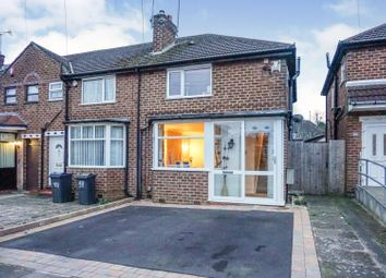 Thumbnail 3 bed end terrace house for sale in Wolverton Road, Birmingham