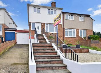 Thumbnail 3 bed semi-detached house for sale in Coombfield Drive, Dartford, Kent