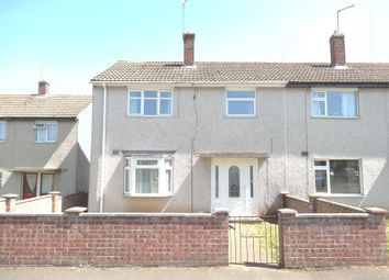 Thumbnail 3 bed semi-detached house to rent in Melrose Road, Thringstone, Coalville
