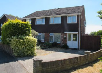 Thumbnail 3 bed semi-detached house for sale in Headley Close, Lee-On-The-Solent
