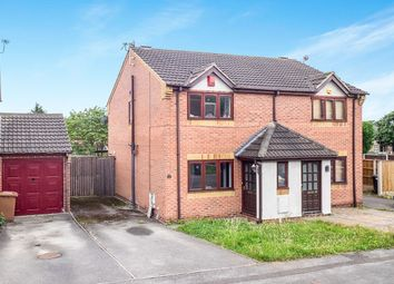 Thumbnail 2 bed semi-detached house for sale in Spray Close, Colwick, Nottingham