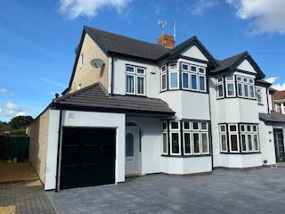 Thumbnail 4 bed semi-detached house to rent in Droylsdon Park Road, Coventry