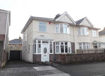 Thumbnail 3 bed semi-detached house to rent in Langhill Road, Plymouth