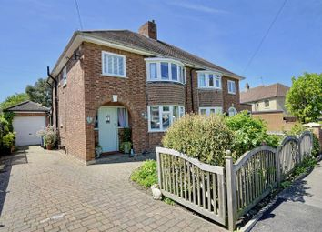 Thumbnail 3 bed semi-detached house for sale in Priory Grove, Huntingdon, Cambridgeshire.