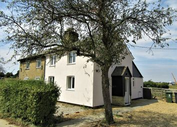 Thumbnail 2 bedroom cottage to rent in Huntingdon Road, Lolworth, Cambridge