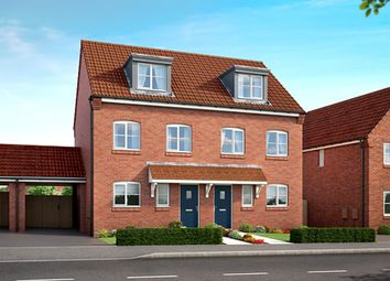 "Thumbnail 3 bed property for sale in ""The Caraway"" at Mooracre Lane, Bolsover, Chesterfield"