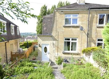 Thumbnail 2 bed semi-detached house for sale in Springfield Close, Bath