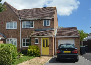Thumbnail 3 bed semi-detached house to rent in Camelia Close, Havant