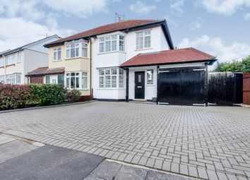 Thumbnail 3 bed semi-detached house for sale in Glastonbury Chase, Westcliff-On-Sea, Essex