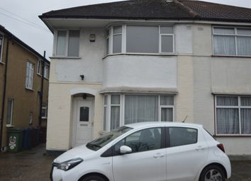 Thumbnail 4 bed semi-detached house to rent in Streatfield Road, Kenton