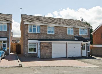 Thumbnail 3 bed semi-detached house for sale in Harebell Close, Heath Hayes, Cannock