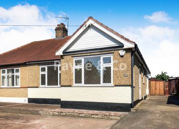Thumbnail 3 bed semi-detached bungalow for sale in Aldborough Road South, Seven Kings