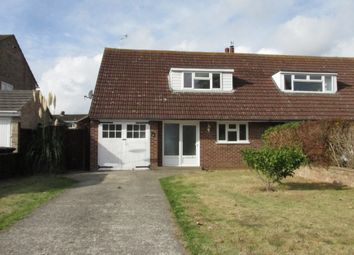 Thumbnail 2 bed semi-detached bungalow to rent in Belgrave Crescent, Chichester