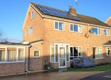 Thumbnail 4 bedroom semi-detached house for sale in Slade Close, Ottery St. Mary
