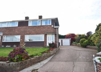 Thumbnail 3 bed semi-detached house for sale in Well Farm Close, Malpas