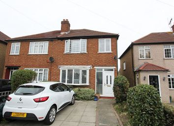 Thumbnail 3 bed semi-detached house for sale in Gander Green Lane, Cheam, Sutton, London