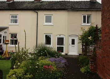 Thumbnail 2 bed terraced house to rent in Church Lane, Rocester