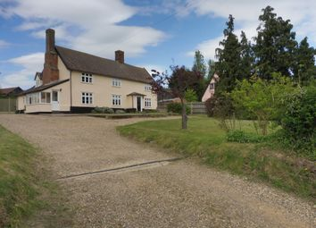 Thumbnail 5 bedroom farmhouse for sale in Smallworth, Garboldisham, Diss