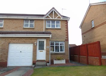 Thumbnail 3 bed semi-detached house for sale in Girvan Crescent, Chapelhall, Airdrie, North Lanarkshire