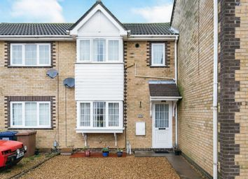 Thumbnail 3 bed terraced house for sale in Moorhen Road, Whittlesey, Peterborough