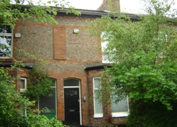 Thumbnail 3 bed terraced house to rent in Chequers Road, Chorlton Green, Manchester