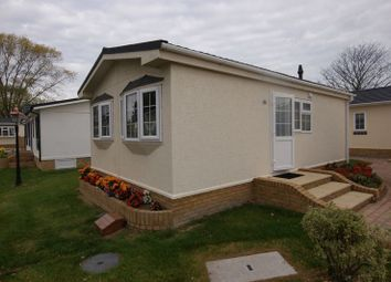 Thumbnail 1 bed mobile/park home for sale in Reculver Lane, Reculver, Herne Bay