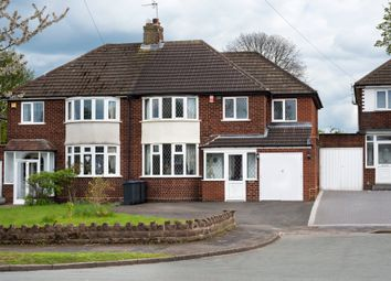 Thumbnail 3 bed semi-detached house for sale in Kingswood Drive, Sutton Coldfield