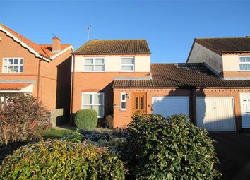 Thumbnail 3 bed link-detached house for sale in Riverside Gardens, Elvington, York