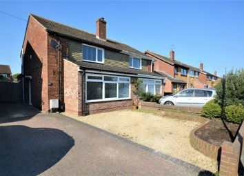 Thumbnail 3 bed semi-detached house for sale in Brasenose Road, Didcot