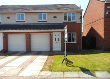 Thumbnail 3 bed semi-detached house for sale in Church View, Longhorsley, Morpeth