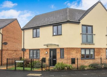 Thumbnail 3 bed semi-detached house for sale in Manor Drive, Gunthorpe, Peterborough