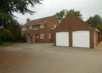 Thumbnail 4 bed detached house for sale in Eastrea Road, Whittlesey, Peterborough, Cambridgeshire
