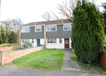 Thumbnail 3 bed terraced house to rent in Wickham Road, Church Crookham, Fleet