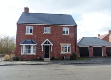 Thumbnail 4 bed detached house for sale in Brampton Grange Drive, Daventry