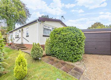 Thumbnail 2 bed mobile/park home for sale in Deanland Wood Park, Golden Cross, Hailsham