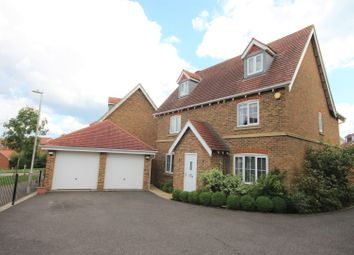 Thumbnail 5 bed detached house for sale in Atkinson Road, Folkestone