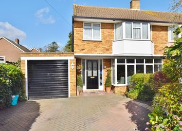 Thumbnail 3 bed semi-detached house for sale in Buckingham Close, Hampton