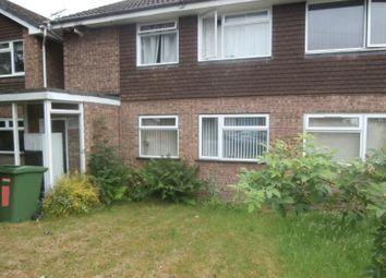 Thumbnail 2 bedroom flat to rent in Brunslow Close, Wolverhampton