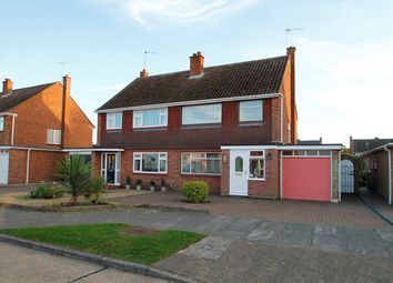 Thumbnail 3 bed semi-detached house for sale in Wareham Avenue, Ipswich