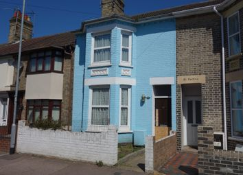 Thumbnail 3 bedroom terraced house for sale in Lorne Park Road, Lowestoft, Suffolk