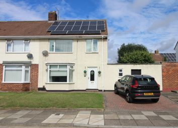 Thumbnail 3 bed semi-detached house for sale in Rathnew Avenue, Stockton-On-Tees