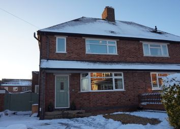 Thumbnail 3 bed semi-detached house for sale in Parkfield Crescent, Two Gates, Tamworth