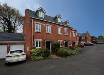 Thumbnail 3 bed town house for sale in St. James Court, Swan Close, Blakedown, Kidderminster